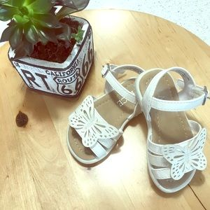 Children's Place Butterfly Sandals